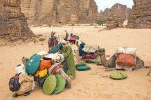 Vorbereitungen für das Trekking durch den Tassili n Ajjer NP und Tadrart