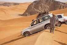 Wüstenrast mit Ausblick