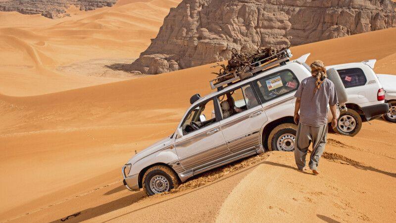 Wüstenrast mit Ausblick © Diamir