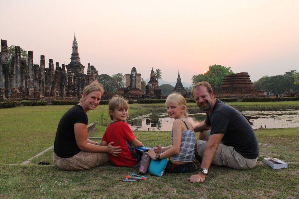 Familienreise in Thailand, hier in Sukhothai