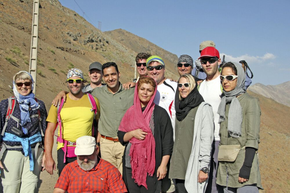 Gruppenbild (Expedition Damavand)