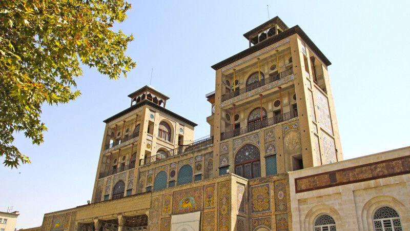Golestan-Palast – Regierungspalast der Kadscharen in Teheran © Diamir