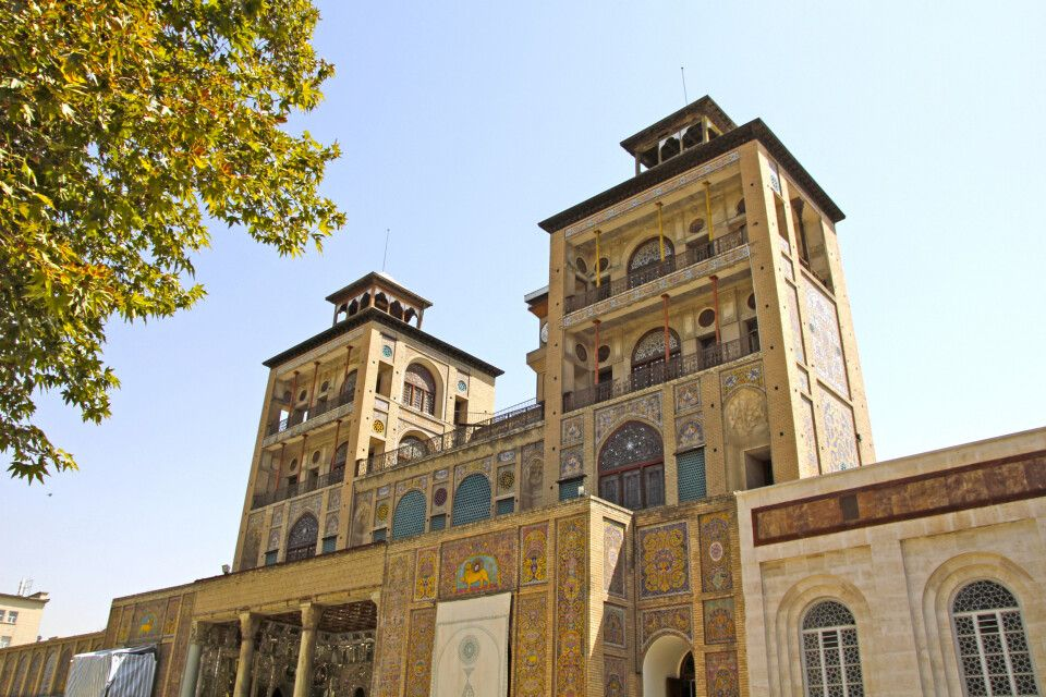 Golestan-Palast – Regierungspalast der Kadscharen in Teheran