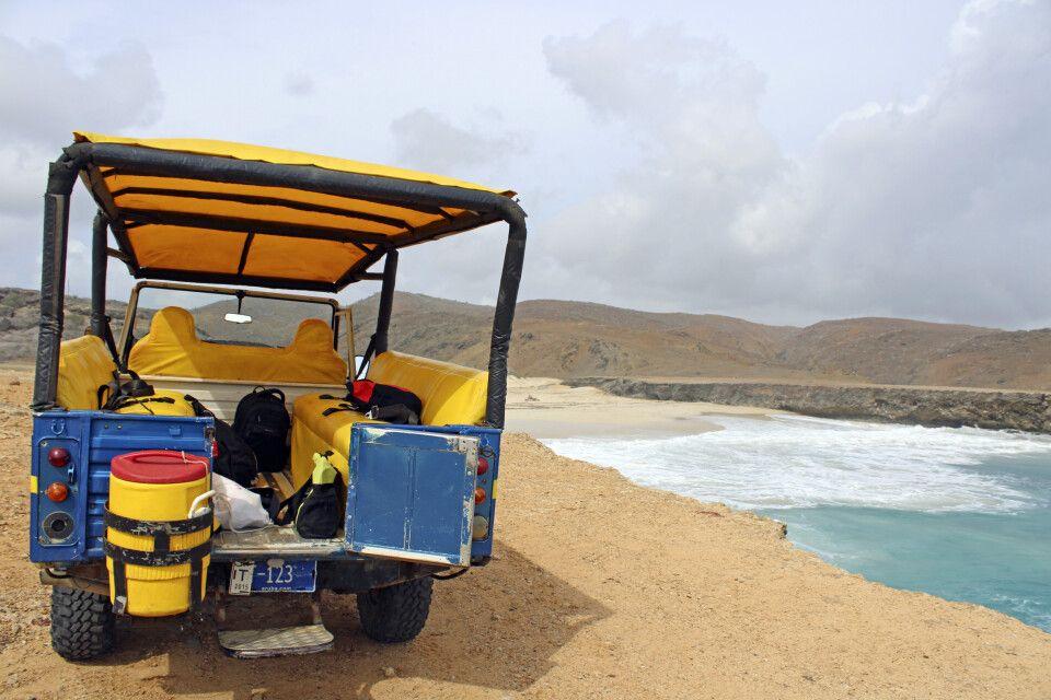 Per Jeep durch den Arikok-Nationalpark auf Aruba