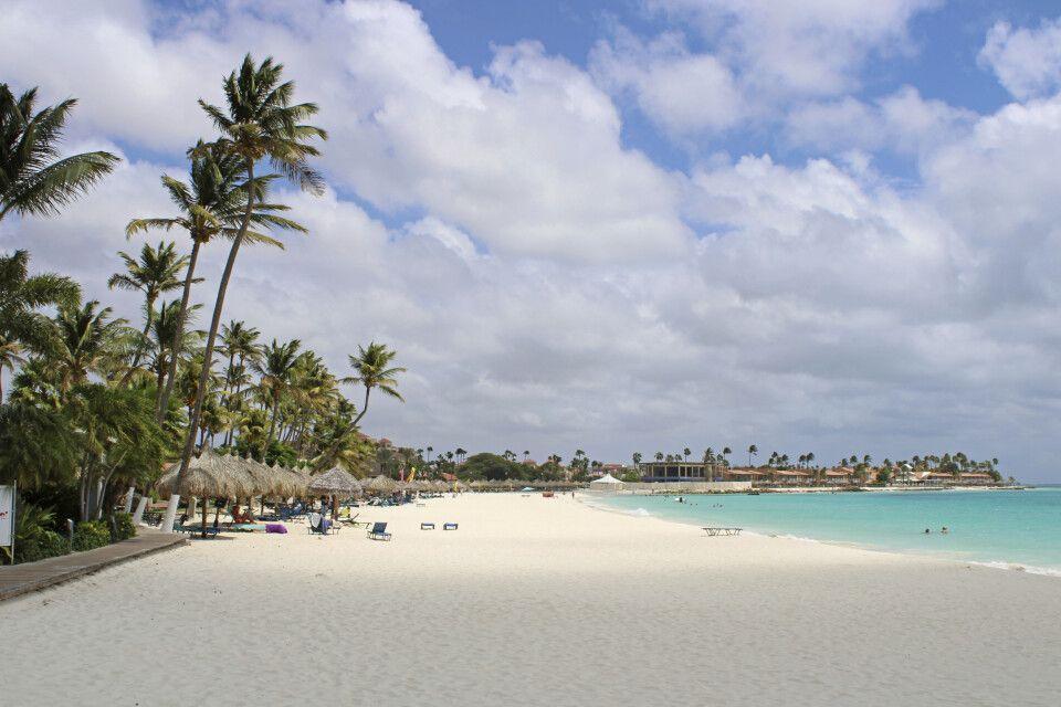 Strand vom Divi Aruba All Inclusive Hotel