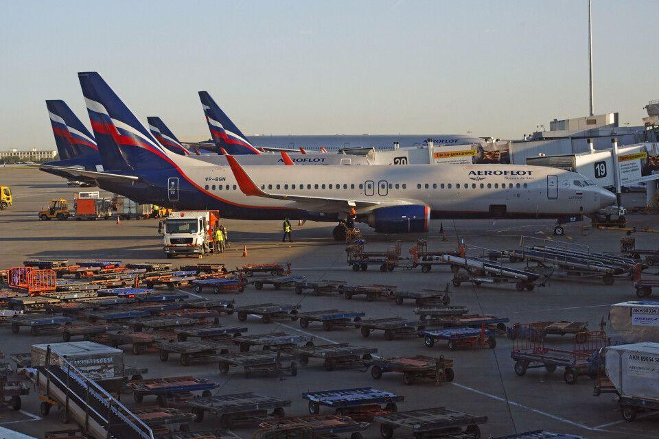 Mit Aeroflot fliegen wir nach Mineralnye Vody