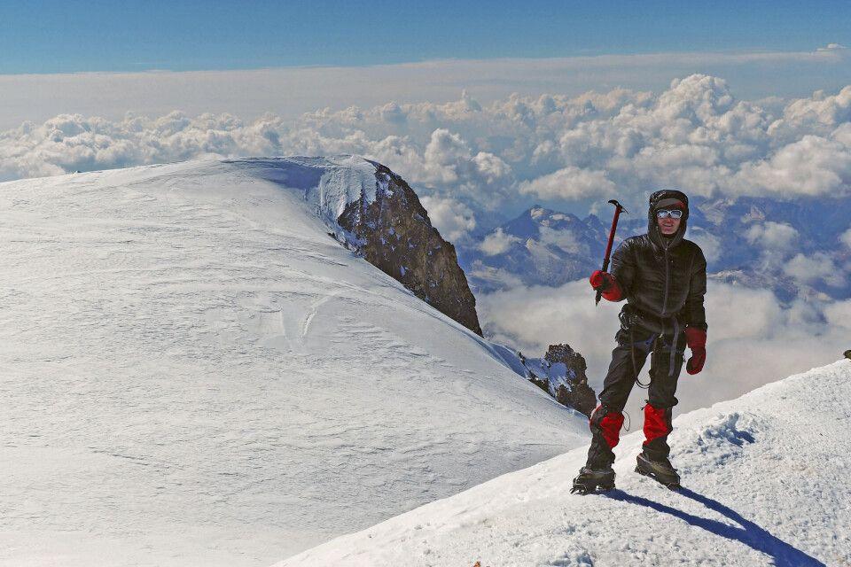 Geschafft!! .. mit traumhaften Gipfelwetter