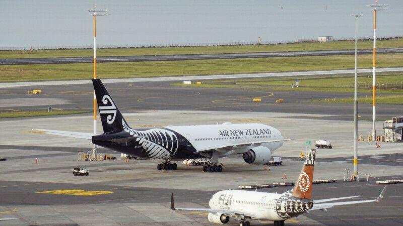 Flughafen Auckland © Diamir