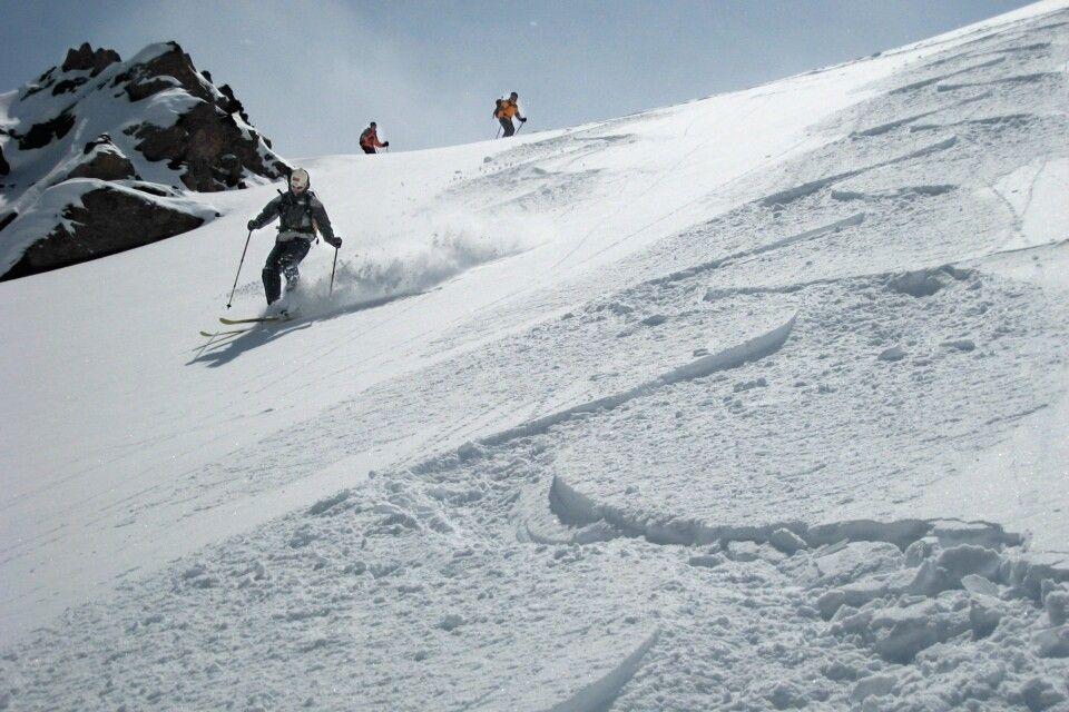 Skitour im Kaukasus