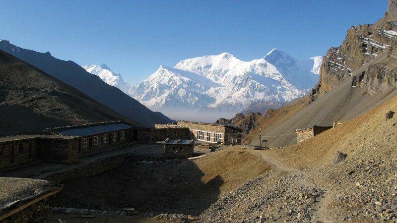 High Camp (4900 m) © Diamir