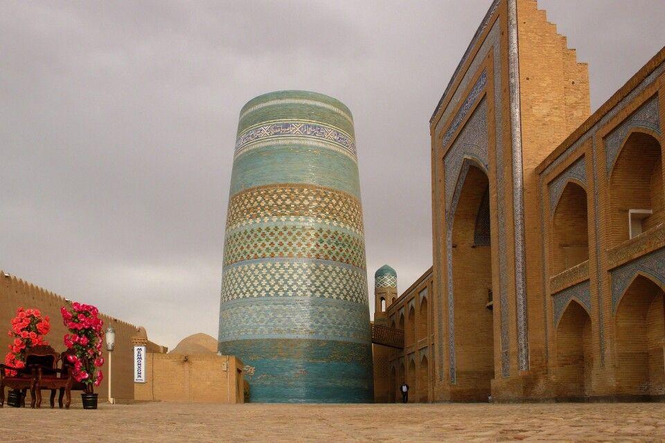Das unvollendete Minarett Kalta Minor