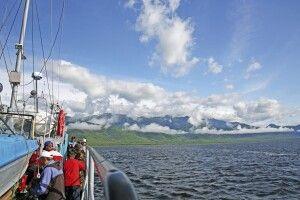 Bootsfahrt auf dem Baikal