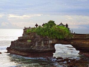 Tempel von Tanah Lot auf Bali