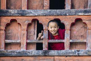 Kind in Bhutan