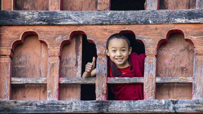 Kind in Bhutan © Diamir