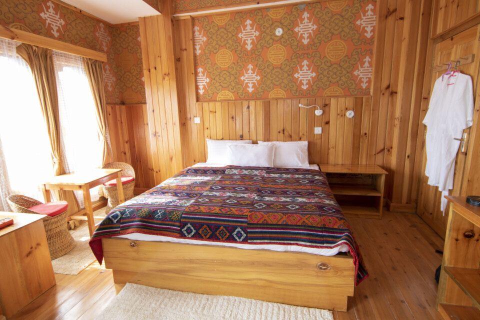 Doppelzimmer im Thimphu View Hotel