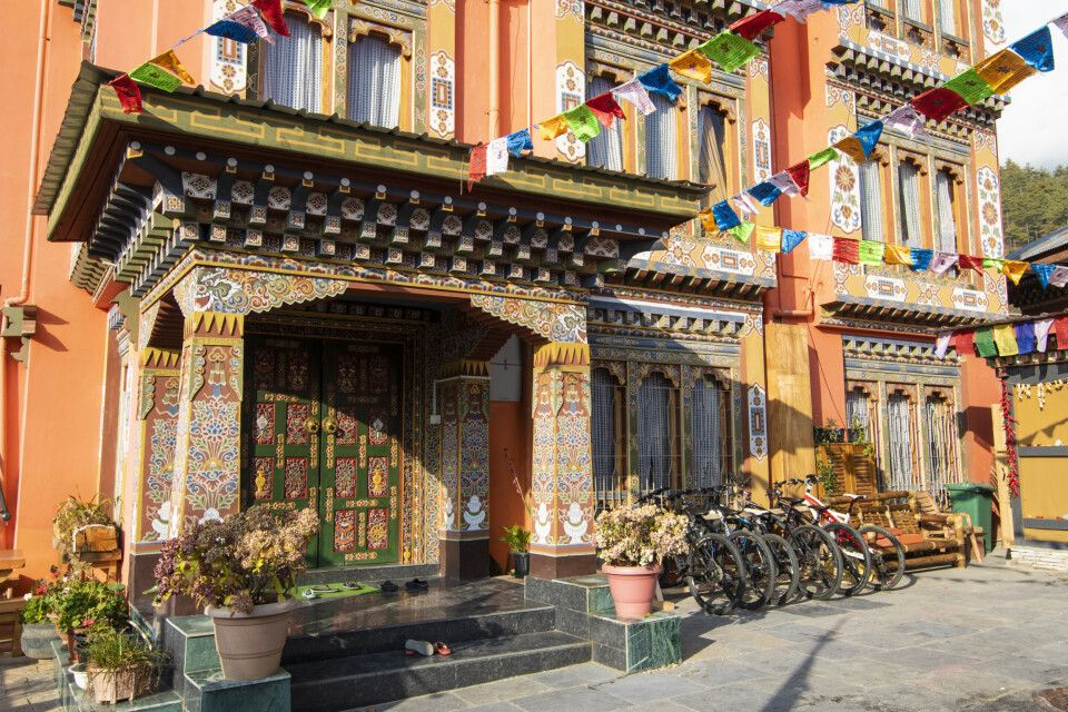 Außenansicht Thimphu View Hotel