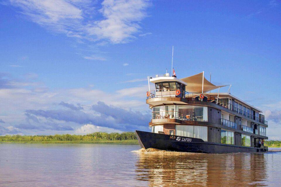 Flusskreuzfahrt mit der M/V Zafiro auf dem Amazonas