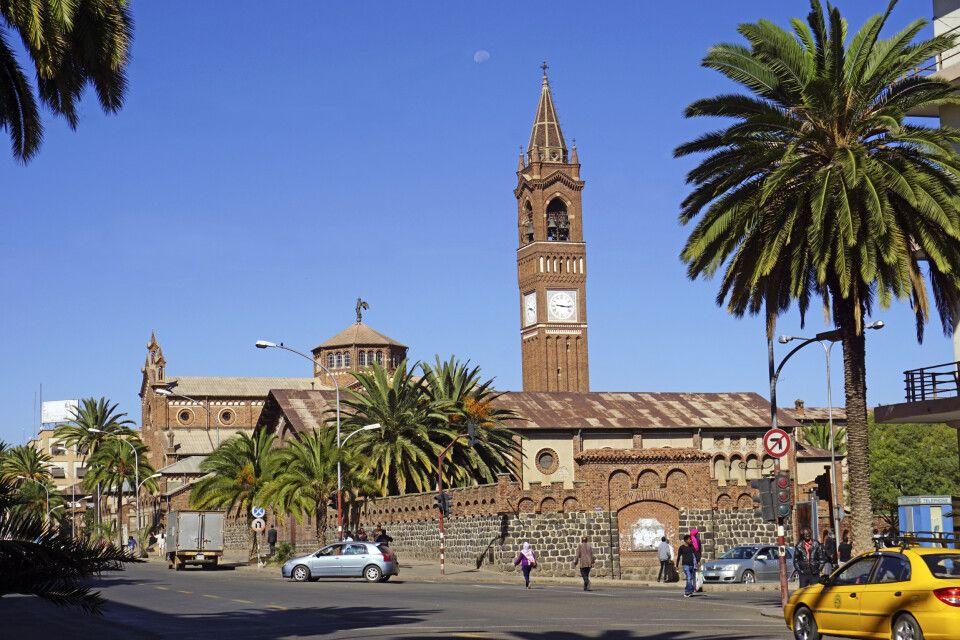 katholische Kathedrale in Asmara