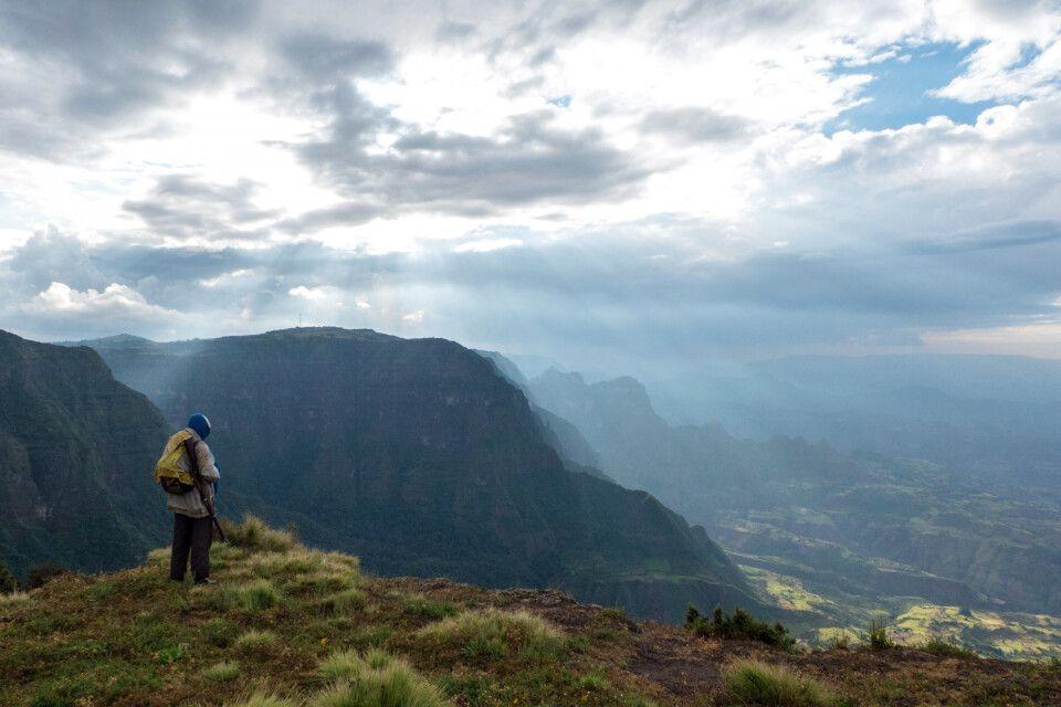 Trekking in den Semien Bergen