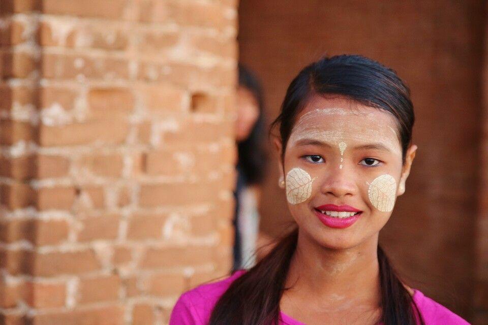 Burmesisches Portait