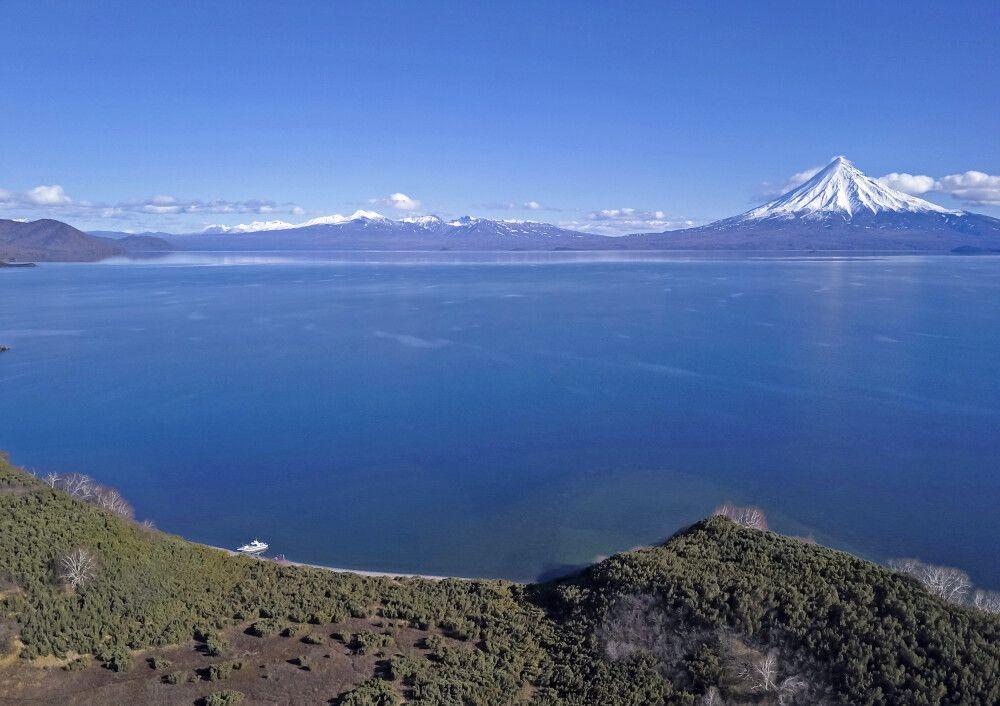 Kronotsky – größter See Kamtschatkas