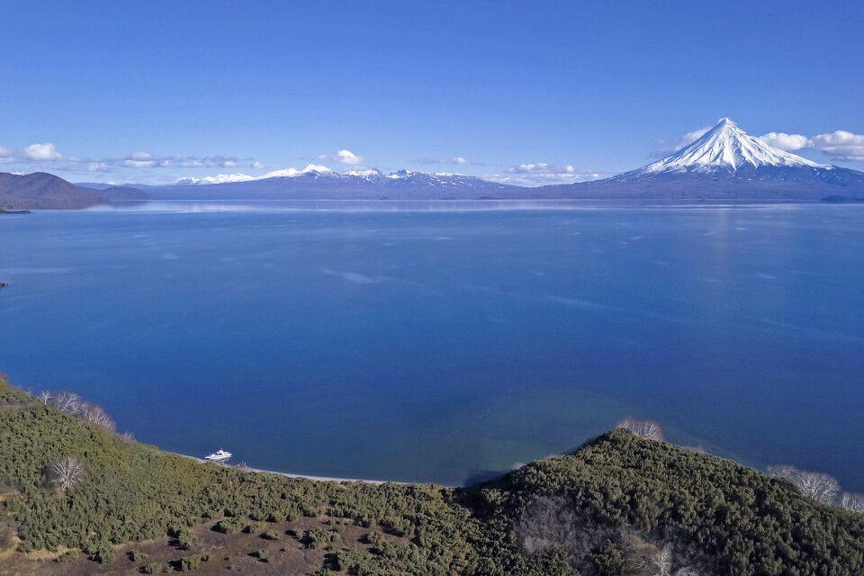 Kronotsky - größter See Kamtschatkas