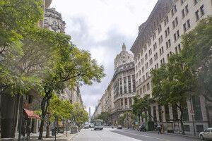 Unterwegs in den Straßen von Buenos Aires