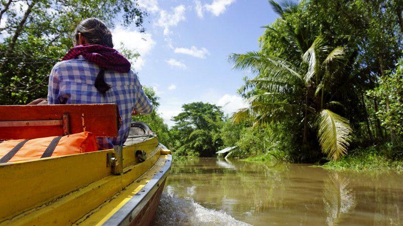 Auf Entdeckungstour im Mekongdelta © Diamir