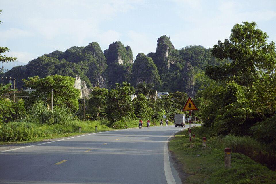 Auf dem Weg nach Mai Chau