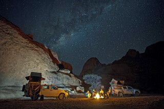 Sternenhimmel über Namibia