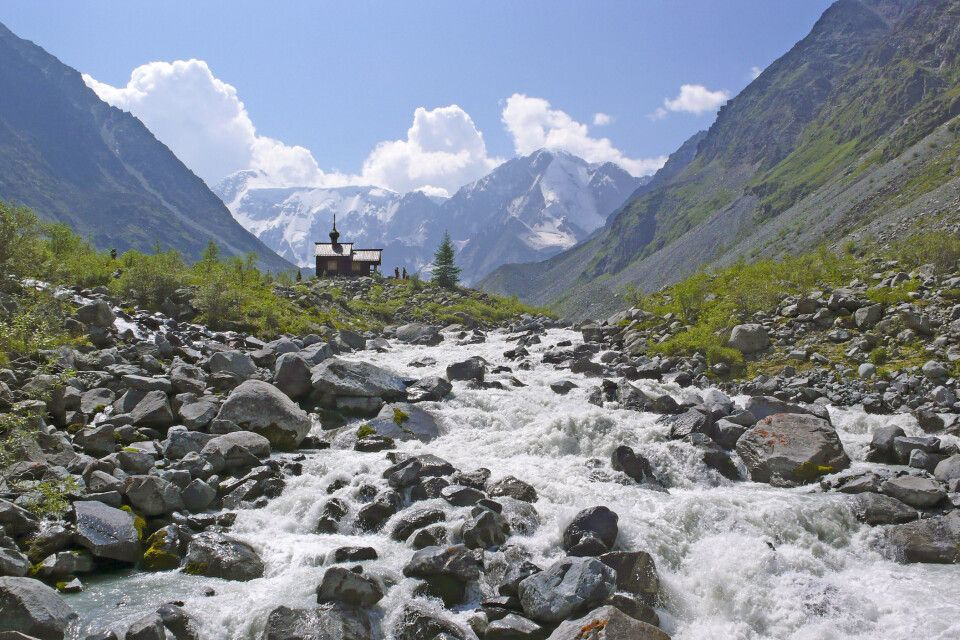 Tal im Altai