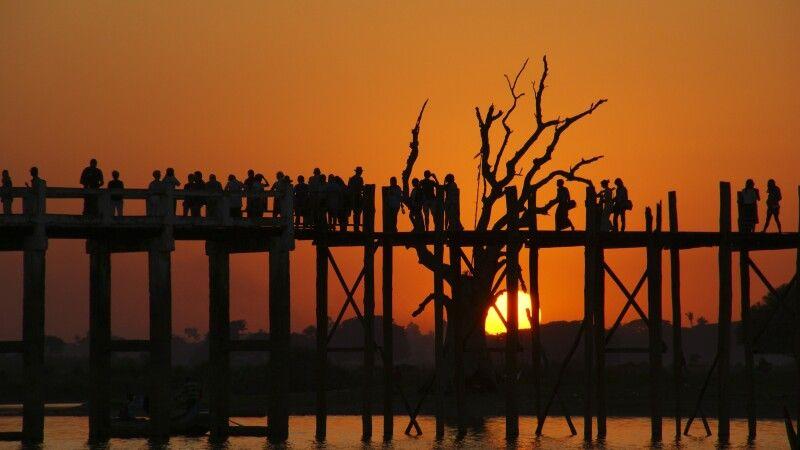 Amarapura, die U-Bein-Brücke © Diamir