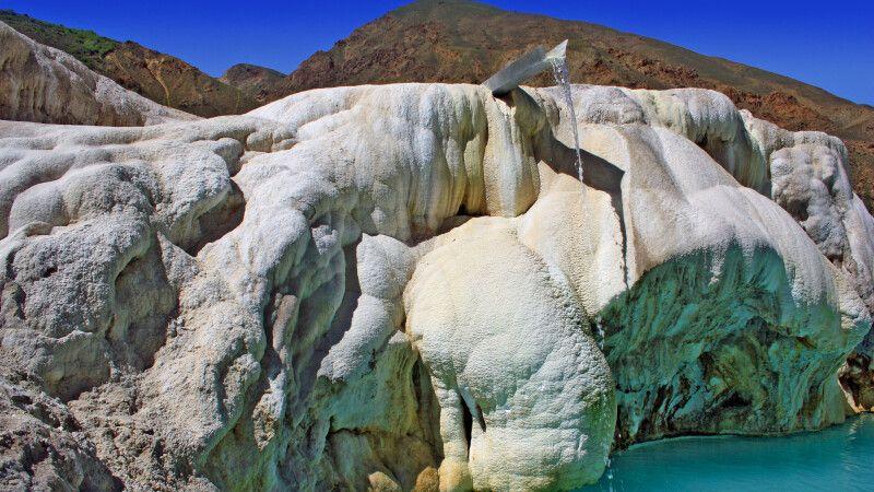 Quellterrassen von Garm Shashma © Diamir