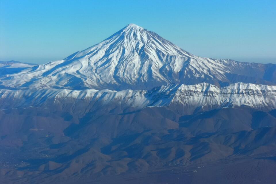 Vulkan Damavand (5671m)
