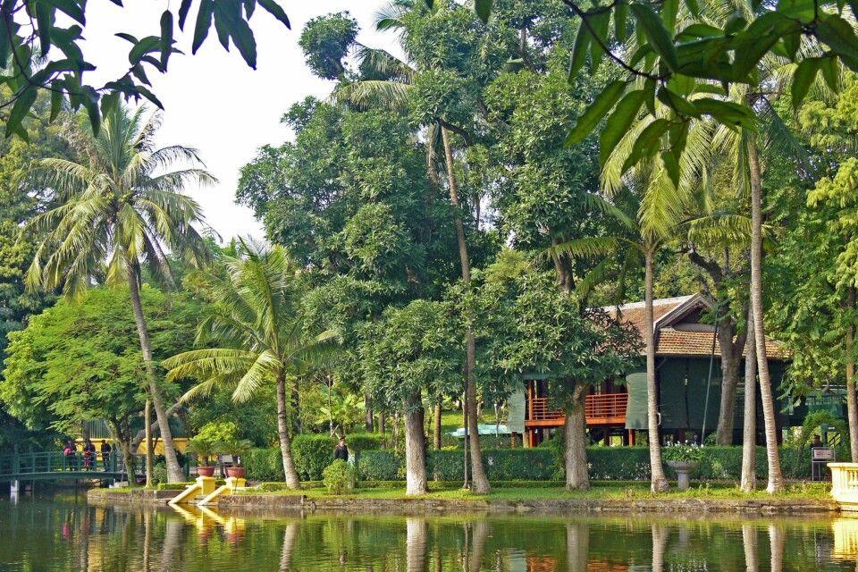 Ehemaliges Wohnhaus von Bac Ho oder auch Onkel Ho
