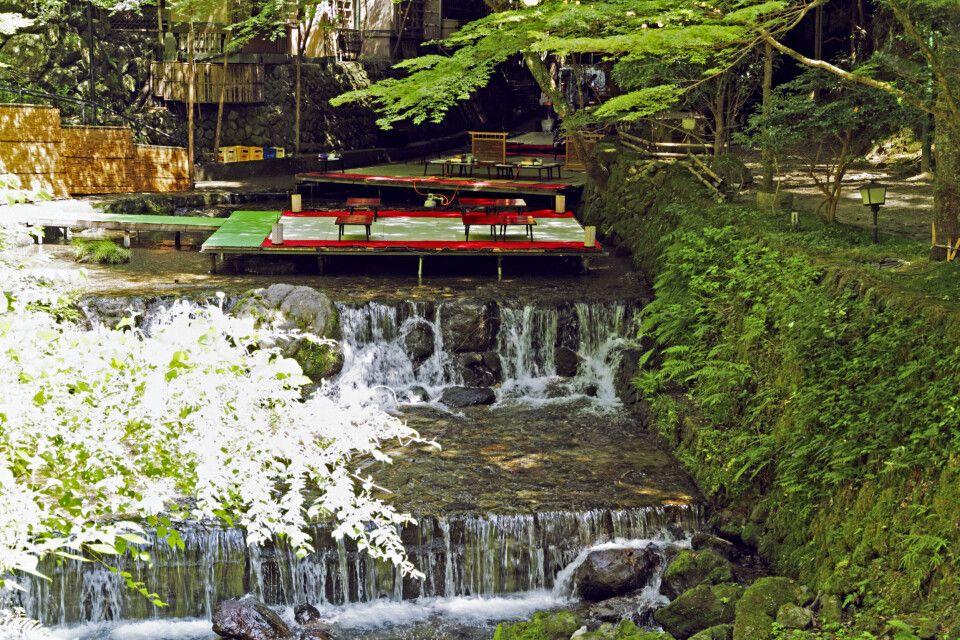 Kawadko in Kibune/Kyoto