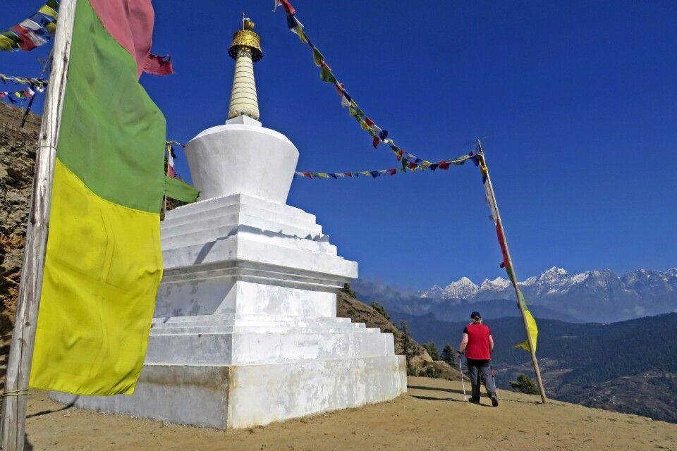 Anmarsch ins Everest-Gebiet
