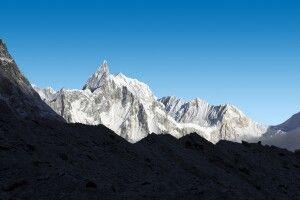 Bergpanorama von Bimthang