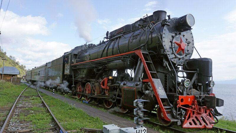 Mit der Transsibirische Eisenbahn unterwegs © Diamir