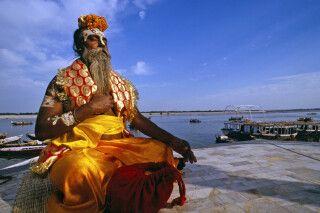 Varanasi - Sadhu (heiliger Mann)