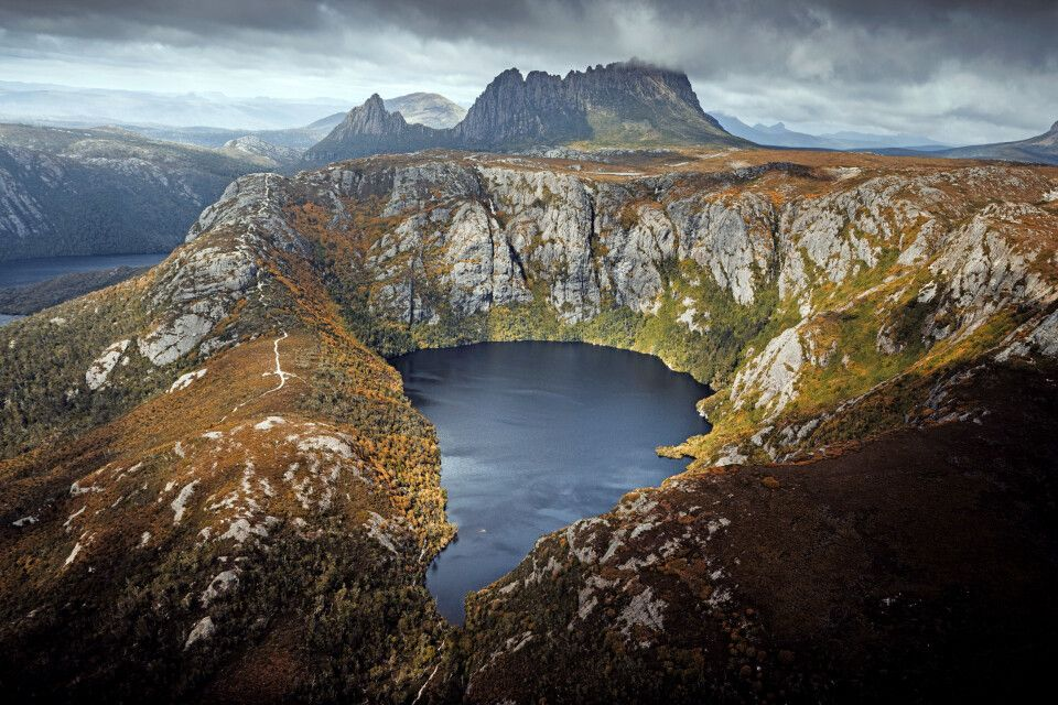 Krater-See, Cradle Mountain