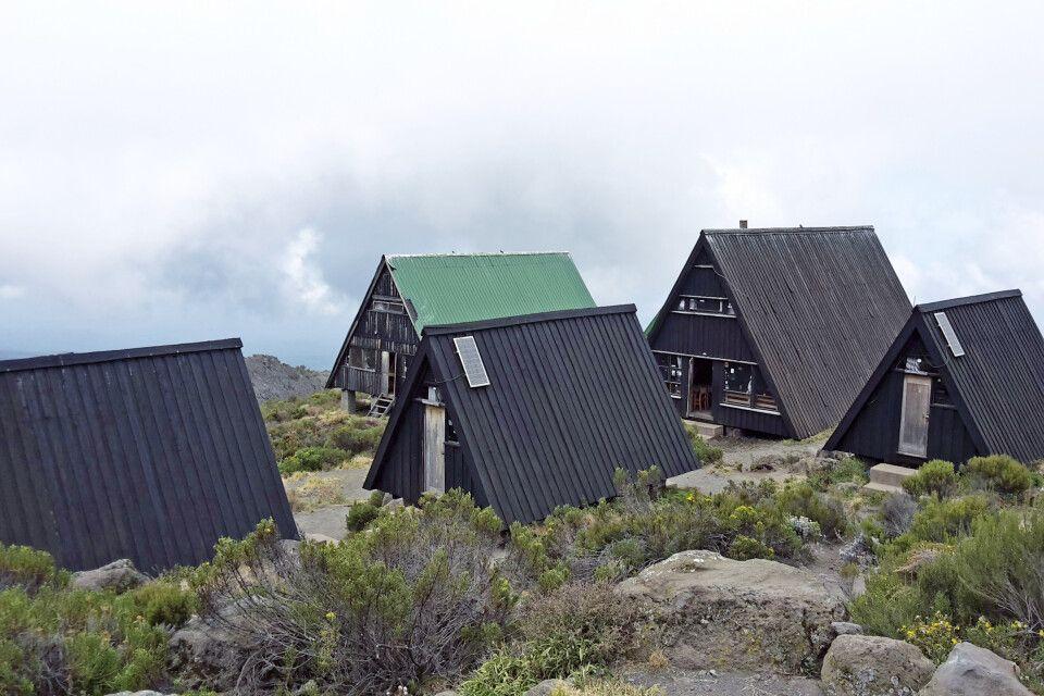 Ihr Zuhause für 3 Nächte – die Horombo-Hütten