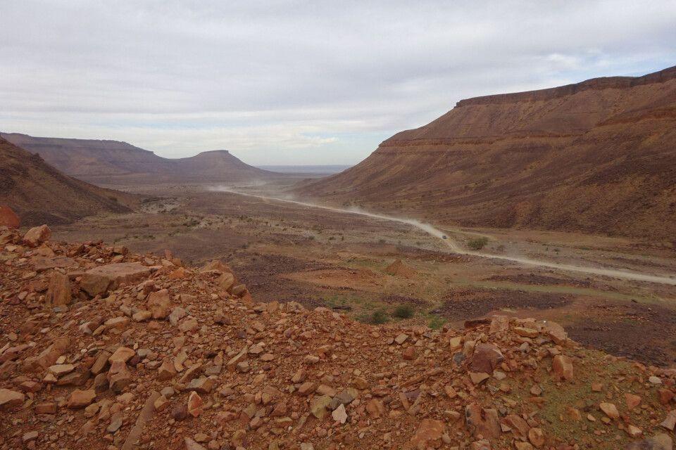 Felswüste in Mauretanien