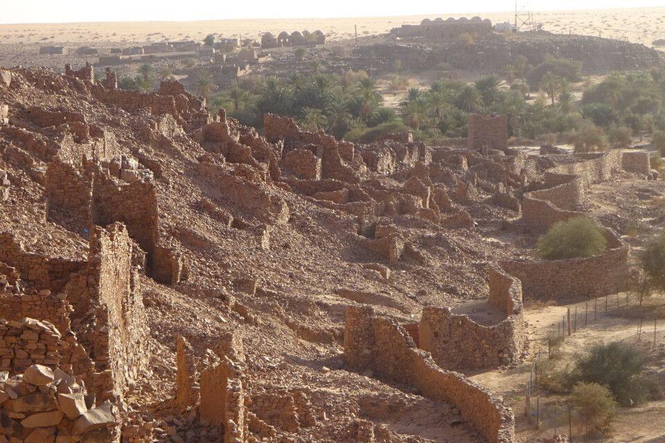 Ouadane auf dem Adrar-Plateau