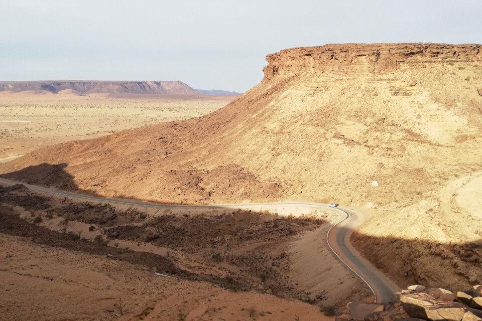 Passstrasse in Mauretanien