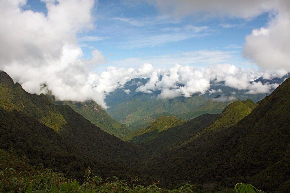 Während der Besteigung des Mt. Fanispan
