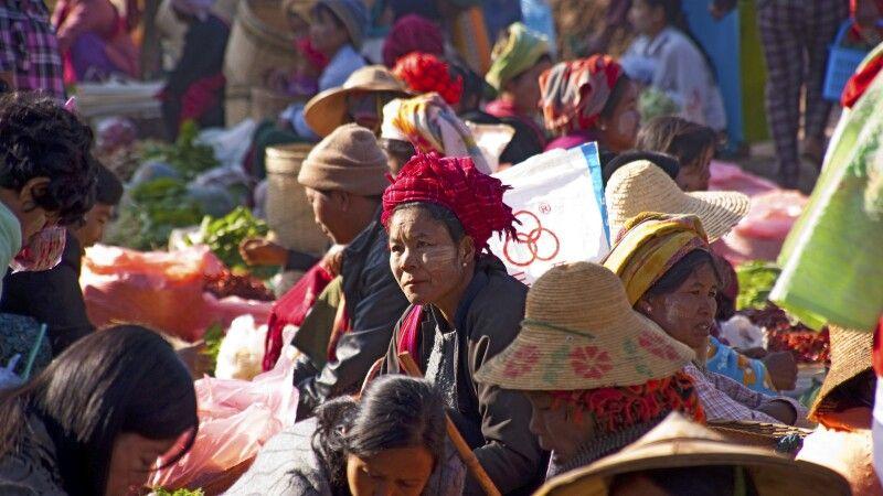 Markt in Kalaw © Diamir