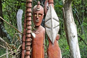 Waka-Figuren in Konso