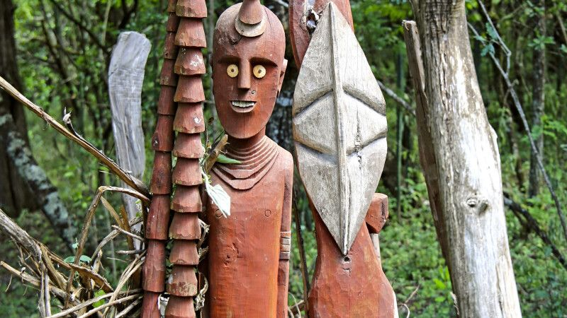 Waka-Figuren in Konso © Diamir
